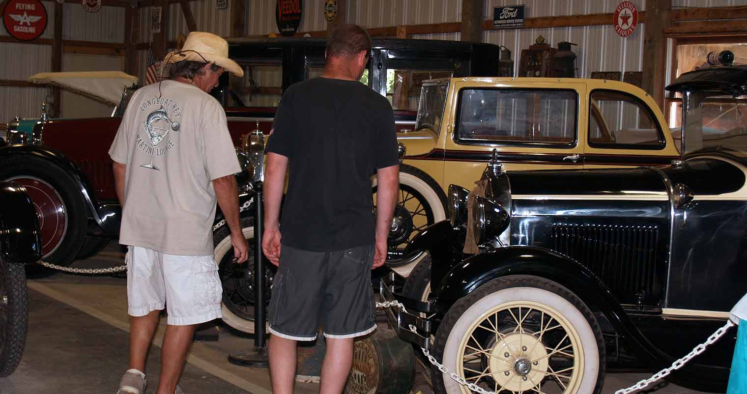 Perry's Cave Family Fun Center - Put-in-Bay - Antique Car Museum