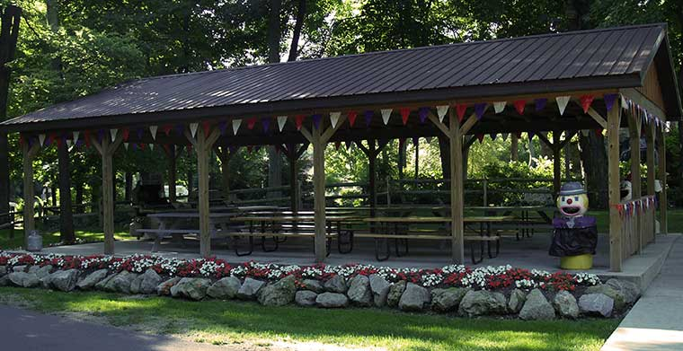Perry's Cave Family Fun Center - Put-in-Bay - Picnic Pavilion