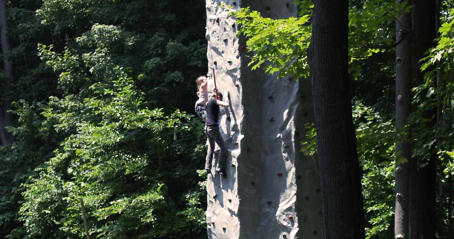 Perry's Cave Family Fun Center - Put-in-Bay - Rock Wall